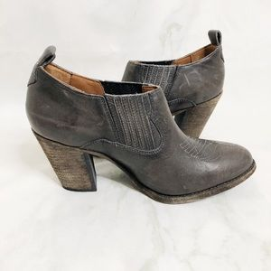 Frye Stitched Point Toe Ankle Boots/Booties